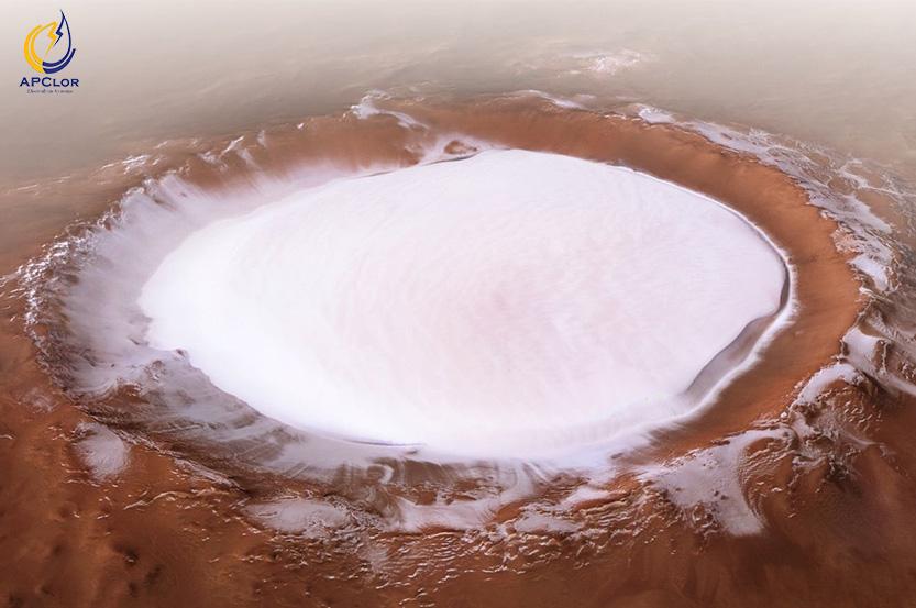 تبدیل آب نمک مریخ
