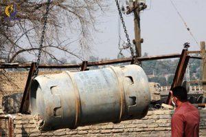 نشت گاز کلر در دزفول