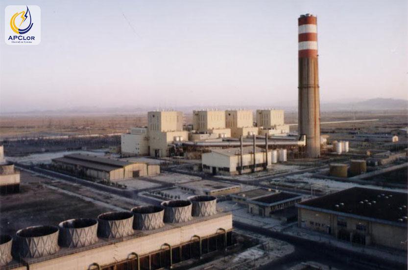 مصرف آب در نیروگاه شهید مفتح همدان