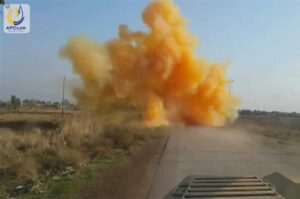 گاز کلر به عنوان سلاح جنگی